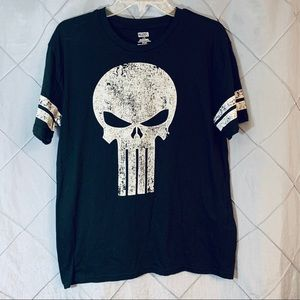 Marvel punisher T-shirt large baseball style